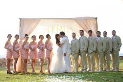 映画のような結婚式1