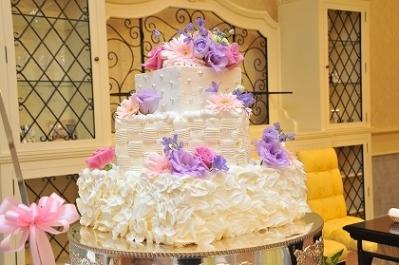 ウェディングケーキ♪1