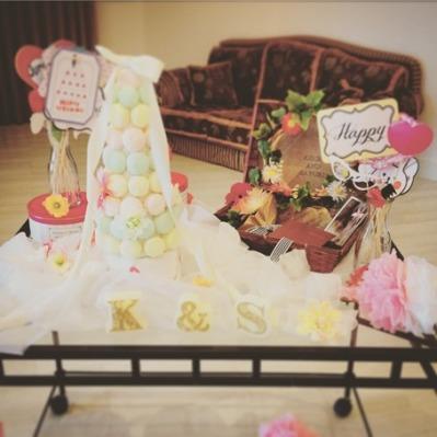手作りい~っぱいの結婚式1