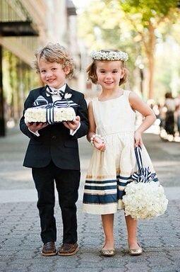 お子様と一緒に結婚式を・・・♪1