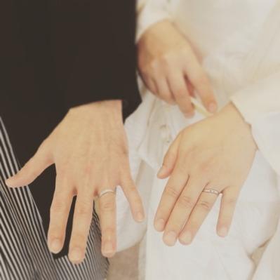 ふたりの絆の証❤結婚指輪1