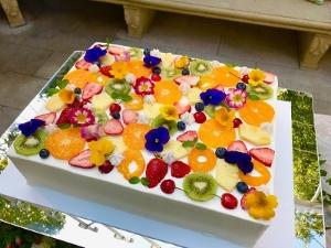 彩りケーキ☆1